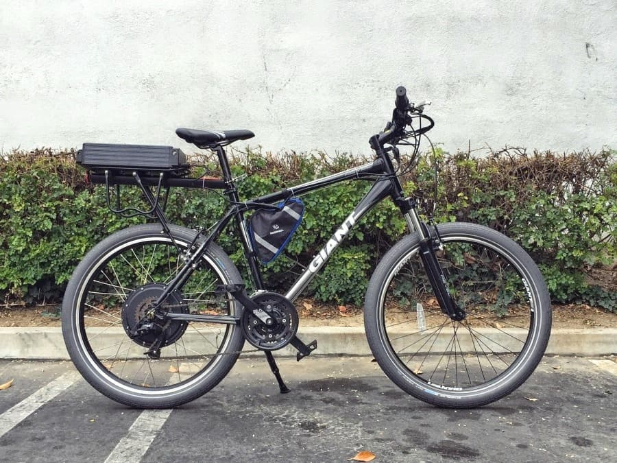The Advantages of Using an Electric Bicycle Kit